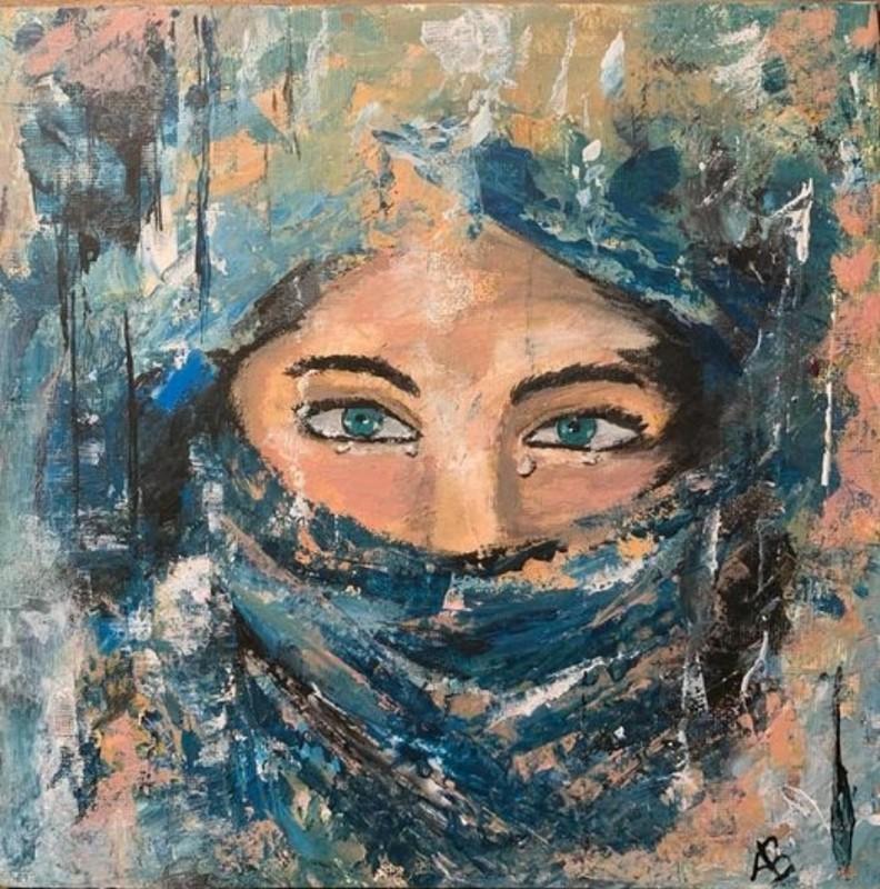 Anne Backer - gesluierd